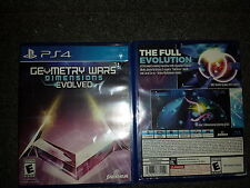 Geometry Wars 3 Dimensions Evolved Sony Playstation 4 PS4 GW3 DE 2016 2k16 New