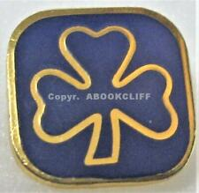 GIRL GUIDES GUIDER APPOINTMENT CANADA GOLD TONE & BLUE Pin