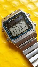Vintage CA SIO 242 DW 2000 solar digital watch digi watch