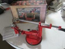 apple peeler cast iron purelite suction and wind in box peels peal pealer peal