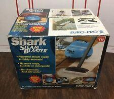 Shark Euro Pro X Steam Blaster Cleaner Ep-95 Blue New steamer