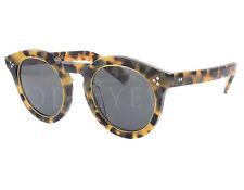 NEW Illesteva Leonard II L2R-6 Ring Tortoise / Grey Sunglasses