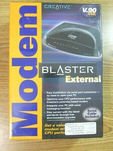 CREATIVE MODEM BLASTER EXTERNAL V.90 56K WINDOWS