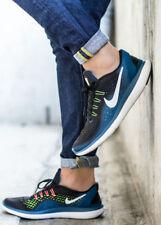 Nike Mens Flex 2017 RN Running Shoes - Black/white 8
