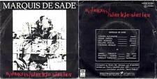 MARQUIS DE SADE RHYTHIQUES+WHITE LIGHT VELVET UNDERGROUND 11c008-72134H PORTUGAL