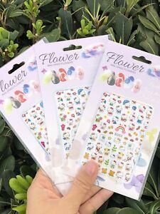 3 Packs Hello kitty Nail Stickers nail art designs