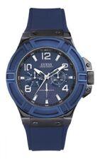 Relojes de pulsera GUESS de cuero de día y fecha