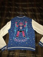 Drop Dead Varsity Jacket sz Large Yeezy Supreme 100% Authentic