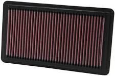 K & n Filtro De Aire Para Honda Civic Si 2.0 elemento 2.0 06-11 33-2343