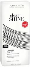 John Frieda Clear Shine Luminous Glaze for All Hair Shades, 6.5 oz (Pack of 2)