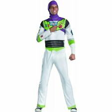 Toy Story Buzz Lightyear Classic Adult Halloween Costume SIZE XL 42-46 FREE SHIP