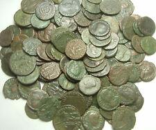 Random Lot 4 genuine Ancient Roman coins Constantine Licinius Constantius Valens