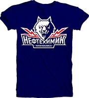 Men's T-Shirt KHL Professional Hockey HC Neftekhimik Nizhnekamsk Team Sports NHL