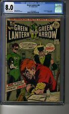 Green Lantern (1960) # 85 - CGC 8.0 OW/White - My Ward is a Junkie! - Neal Adams
