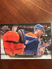 2015-16 UD Hockey Series 1 Jordan Eberle Insert UD Canvas #C34