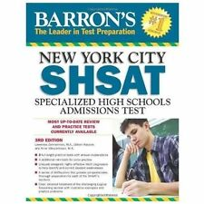 Barron's New York City SHSAT, 3rd Edition: Specialized High Schools Admissions T