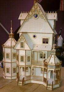 Ashley Gothic Victorian  Dollhouse 1:24 scale Kit