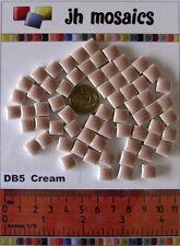 100pcs - 110grams Micro Ceramic Mosaic Tiles Cream DB5