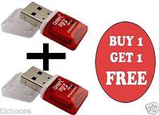 QUANTUM QHMPL QHM5570 CARD READER MICRO SD/TF 1 YEAR WARRANTY BUY 1 GET 1 FREE
