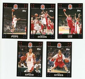 RUTGERS SCARLET KNIGHTS ALL AMERICAN GIRLS BASKETBALL SET APRIL SYKES LEE SPEED+