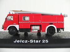 "DeAGOSTINI #52 TLF Jelcz-Star 25 (1960-1975) ""Feuerwehr / Polen"" in rot 1:72 NEU"