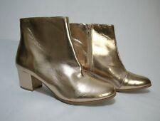 ATMOS&HERE👍Size 9 / EUR 40/41 / US 9👢 Women's Metallic Glitz Boots 🎁