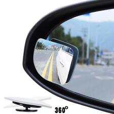 2x Wide Angle Convex Auto Car Blind Spot Round StickOn Side View Rearview Mirror