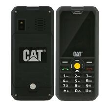 Cat B30 (Unlocked) Black IP67 Rugged, Dust and Waterproof Cell Phone