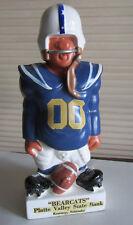 "Original 1960's FAK Fred Kail Football Statue Bank KEARNEY Bearcats Nebraska 9"""