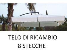 TOP TELO RICAMBIO OMBRELLONE DECENTRATO ALLUMINIO 2,5 x 2,5 MT CON AIRVENT ECRU