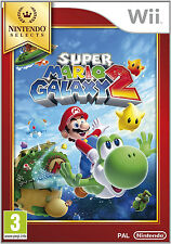 Super Mario Galaxy 2 Nintendo Wii Game Complete