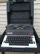 Vintage Olympia X-L12 Electric Typewriter with Carrying Case