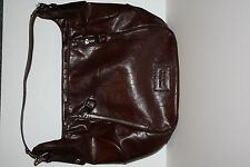 Dark Brown Nine West Shoulder Hand Bag