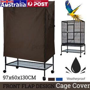 Bird Cage Cover Large Durable Cloth Shell Parrot Dustproof For Pet Breathable