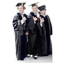 THREE STOOGES Graduate Larry Moe Curly Lifesize CARDBOARD CUTOUT Standup Standee