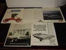 Ford - 59 Pages Of Vintage Print Ads Original