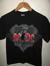 AC/DC 2008 Tee - ACDC AC DC 2009 Black Ice Concert Tour Rock & Roll T Shirt Sm