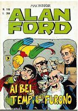 fumetto ALAN FORD N.116 Editoriale Corno