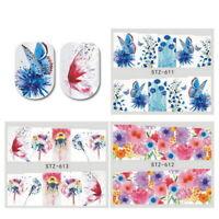 1 Sheet Nail Art Nagel Aufkleber butterfly Design Tattoos Nail Sticker Tools FL
