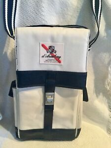 MCLAREN winery tote D'ARENBERG 2 Bottle Tote Bag Retro Padded Divider EUC
