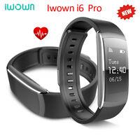 iWOWNfit i6 HR Fitness Tracker Smart Sports Watch Heart Rate Monitor Wristband