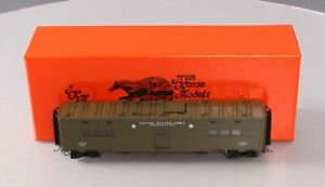 Precision Scale Company 17676-3 BRASS HO Scale WWII Pullman Troop Kitchen Car LN