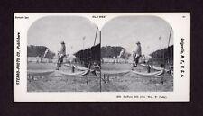 "William F. ""Buffalo Bill"" Cody, Old West Holmes Stereoscope Photograph"