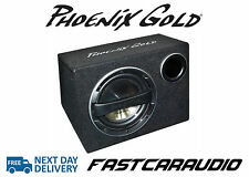 """Phoenix Gold Z112AB 12"""" 320W Active subwoofer bass-box with built in amp"""