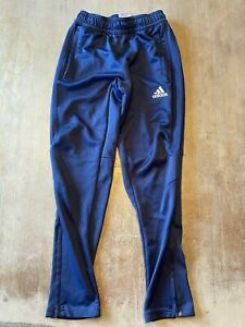 Adidas Track Pants Joggers Blue Youth Size S