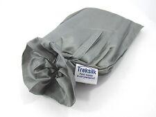 TREKSILK GRAY MUMMY Silk Liner Sleeping Bag Sack Travel Camping Outdoor Trip