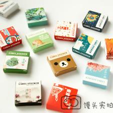 40Pcs/box DIY Vintage Mini Paper Animal Plants Sticker Diary Scrapbooking Label