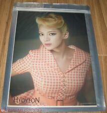 GIRLS' GENERATION SMTOWN COEX Artium OFFICIAL GOODS LION HEART HYOYEON A4 PHOTO