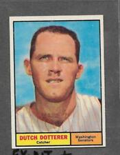 1961 Topps Baseball #332 Dutch Dotterer NR-MINT *5576