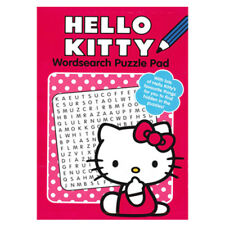 HELLO KITTY WORDSEARCH PUZZLE BOOK, GIFT IDEA